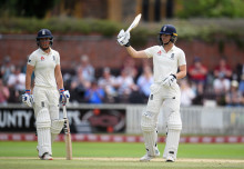 Maiden Test fifties for Jones and Sciver but England trail Australia by 221 runs