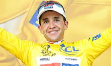 Tour de France vinderen Carlos Sastre gæster Triatland Rebild den 6. – 7. Maj