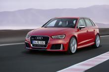 Ny Audi RS 3 Sportback – power i kompakt format