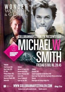 Sålt mer än 15 miljoner album, nu gästar Michael W. Smith Gullbrannafestivalen!