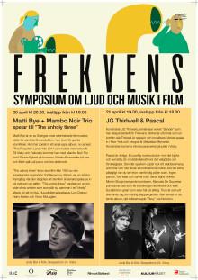 Frekvens om ljud och musik i film
