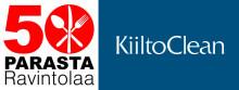 KiiltoClean on 50 Parasta ravintolaa 2018 -listan yhteistyökumppani Paras palvelu -alakategoriassa