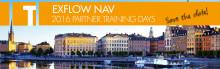 Registration is open - ExFlow NAV 2016 Partner Training Days