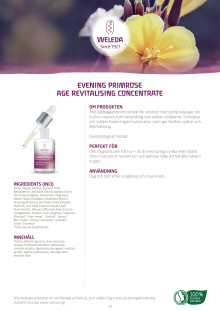 Evening Primrose Age Revitalising Concentrate