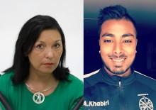 Victoria Harnesk och Afnan Khabiri, är Jokkmokks kommuns kultur- respektive idrottsstipendiat år 2016
