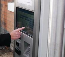 New ticket machine for Lye station