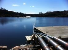 Nu går det vatten mot strömmen vid Malö