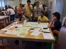 Studenter från Högskolan Väst besökte Schweiz