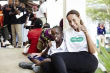 Rekordstor insamling för bättre syn i Tanzania