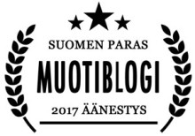 Suomen paras muotiblogi 2017 – äänestä suosikkiasi
