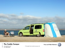 Look to the summer with new Volkswagen Caddy Maxi Camper