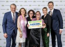 Miljoner tack till Svenska Postkodlotteriet som ger Reumatikerförbundet 6 650 000 kronor i år!