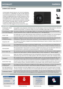 Datenblatt Dash Cam 66W