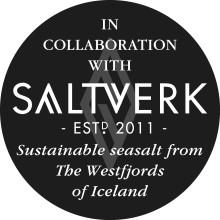 Lakritsfabriken i samarbete med isländska Saltverk!