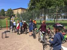 Stolt partner till Kul på hjul – ett integrationsprojekt med cykeln som verktyg