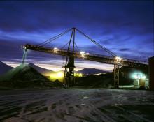 Spesialproduserte Leca-blokker til Store Norske Spitsbergen Kulkompani  på Svalbard.