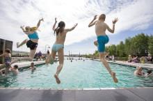 Nytt bad i Jubileumsparken skjuts på framtiden