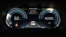 Den helt nye KIA XCeed crossover er udstyret med en ny digital instrumentenhed