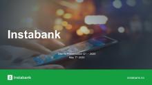 Instabank Investor Presentation – Q1 2020 (pdf)