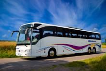 Nu rullar Bloggbussen13 mot Danmark