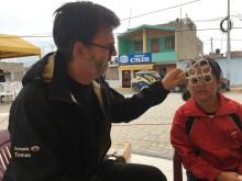73 948 par glasögon till Optiker utan gränser - tusentals medmänniskor i Peru får hjälp till ett bättre liv