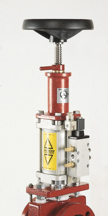 Flowrox Pinch Valves for Scrubber Slurry