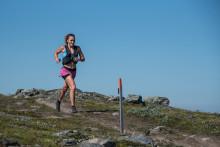 Extrem värme, deltagarrekord och banrekord i damklassen på Salomon 27K när KIA Fjällmaraton Årefjällen inleddes