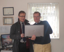 Mark Pawsey MP discovers local efficiencies through cost-effective bespoke software