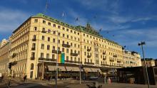 Unik presentation av vårt spektakulära fasadprojekt av Grand Hôtel