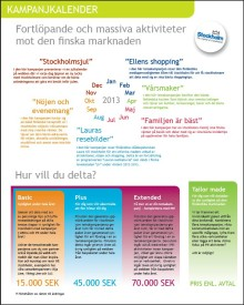 Ny storsatsning ska öka antalet finska besökare till Stockholm