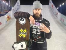 Niklas Mattsson på fjärdeplats i världscupen i Milano.