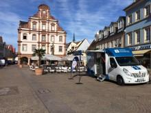 Beratungsmobil der Unabhängigen Patientenberatung kommt am 13. November nach Speyer.