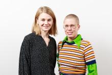 Maria Bonnier Dahlins stiftelses stipendiater 2018, Liva Isakson Lundin och Linnéa Sjöberg