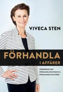 Lär dig förhandla med Viveca Sten!