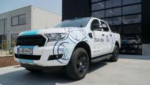 Ford unterstützt Rennradfahrer vom Team Sky mit speziellem Ford Ranger-Pickup bei der Tour de France