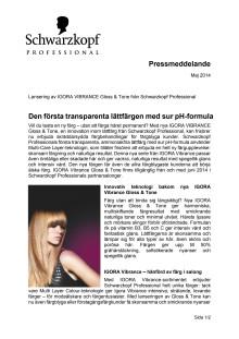 IGORA Vibrance Gloss & Tone