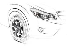 Premiär för en helt ny Subaru