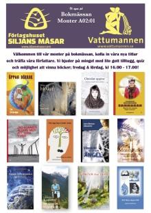 Våra böcker bidrar till hälsotemat på Bokmässan Göteborg