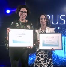 Årets digitala verksamhetsutvecklare 2018 är - Åsa Åberg och Vicki Tomas från Apoteket!