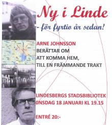 Arne Johnsson inleder STF Bergslagens vårprogram