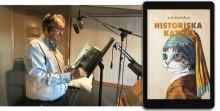 Ett första steg in i ljudboksvärlden. Erik Fichtelius Historiska katter som ljudbok.