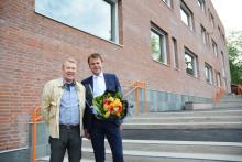 Åpning av nybygg på Marienlyst skole