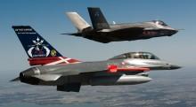 Kom helt tæt på Danmarks nye kampfly