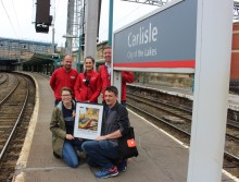 Virgin Trains welcomes 'All The Stations' couple on their railway journey