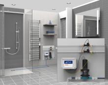 Sanftlaeufer: Innovation von Gang-Way fürs ebenerdige Duschen in jeder Etage