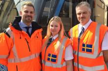 Arrivamedarbetare på femteplats i Spårvagns-EM [video]
