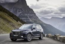 Helt nya BMW X7