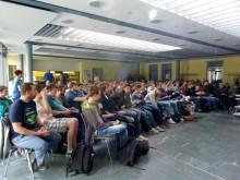 GEKO bringt Europa nach Teltow:  EU-Projekttag am OSZ klärt auf und begeistert