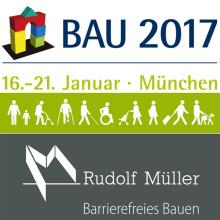 """BAU 2017:  Geführter Messerundgang """"Barrierefreies Bauen & Inklusion"""""""