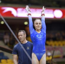 Jonna Adlerteg klar för historisk barrfinal